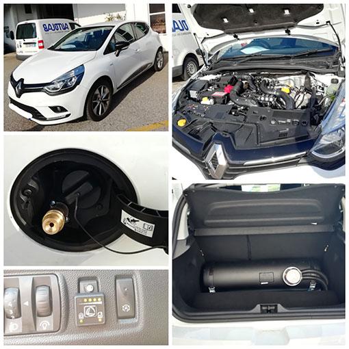 Conversão Renault Clio